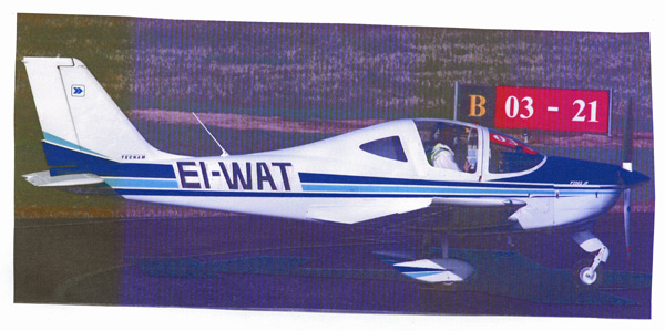 A brand new Tecnam for the club