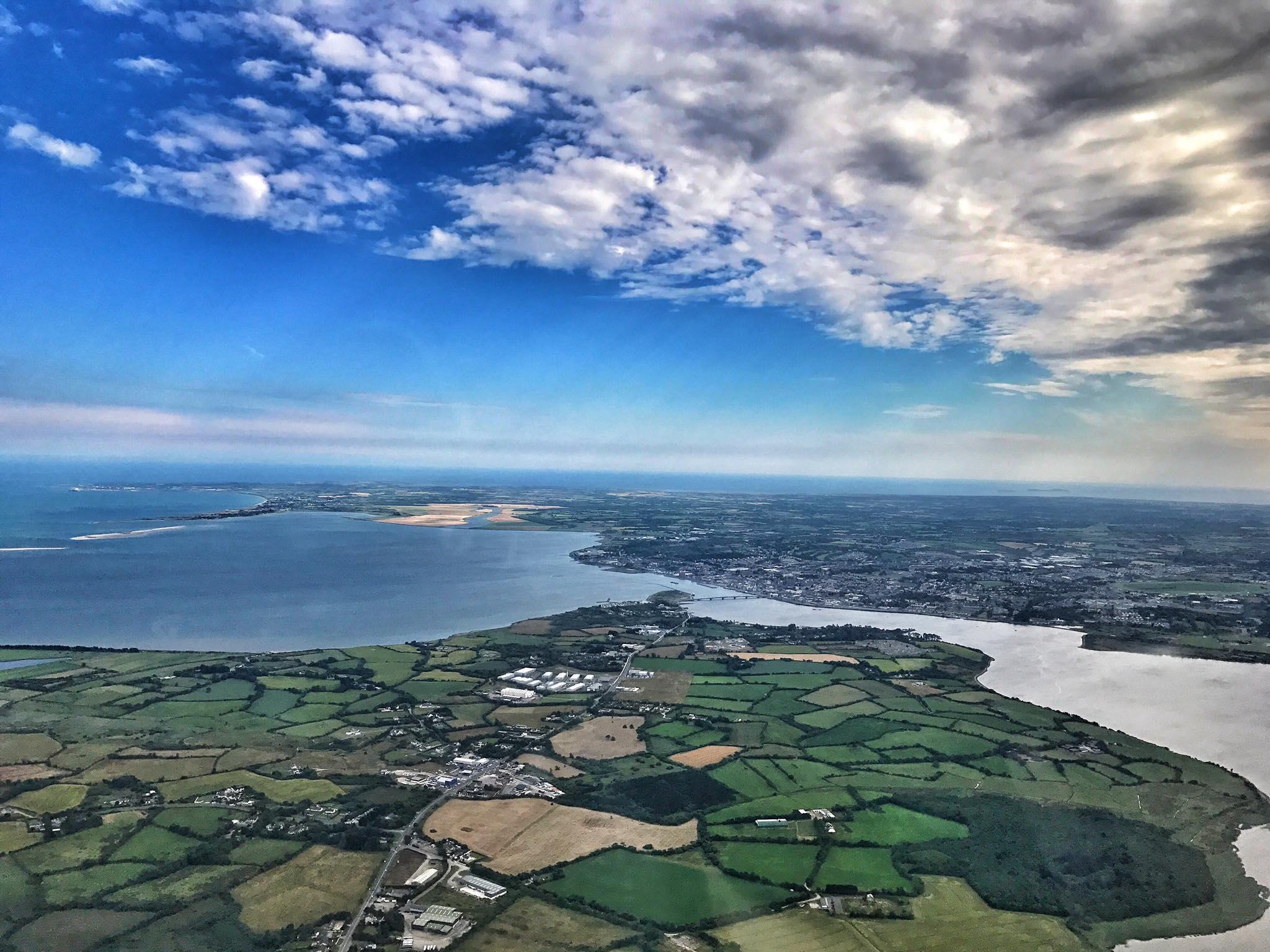 Ireland from the sky