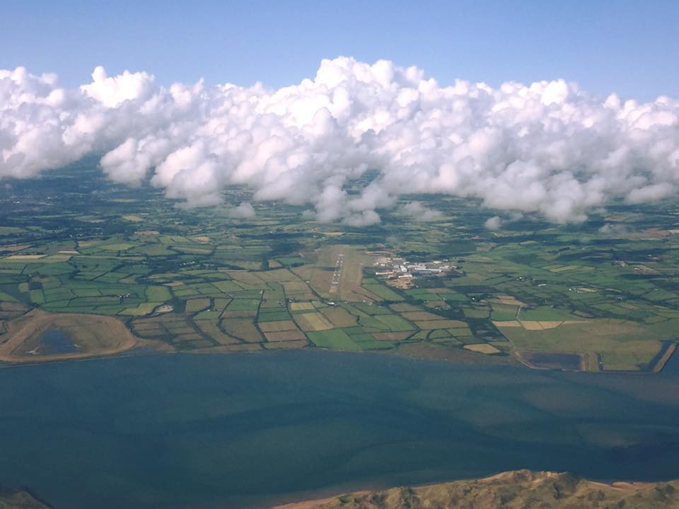 Aerial view of Waterford Airport