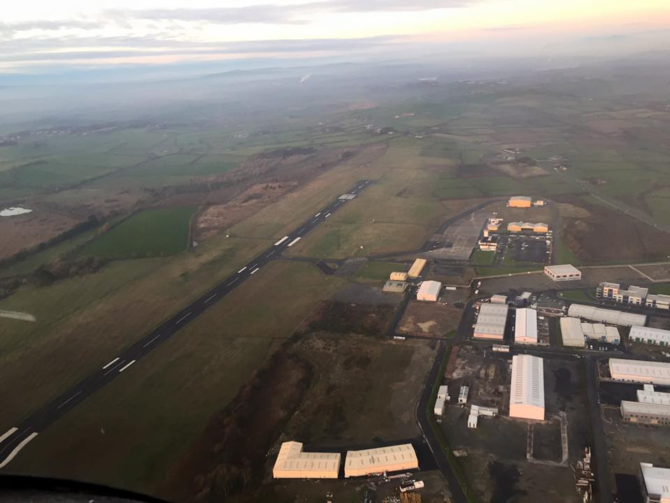 Waterford Airport from EI-DJM