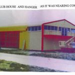 Our new clubhouse and hangar nearing completion