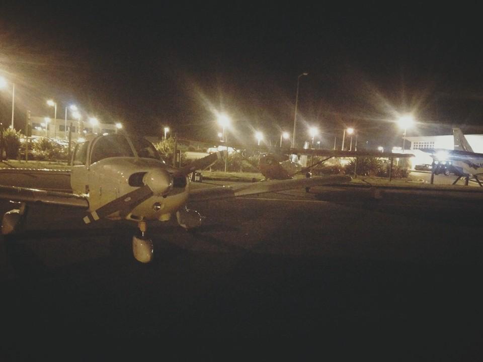 Fueling up EI-DJM to go night flying